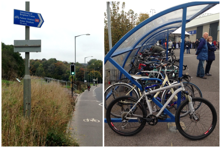 Cycling provision in Brighton