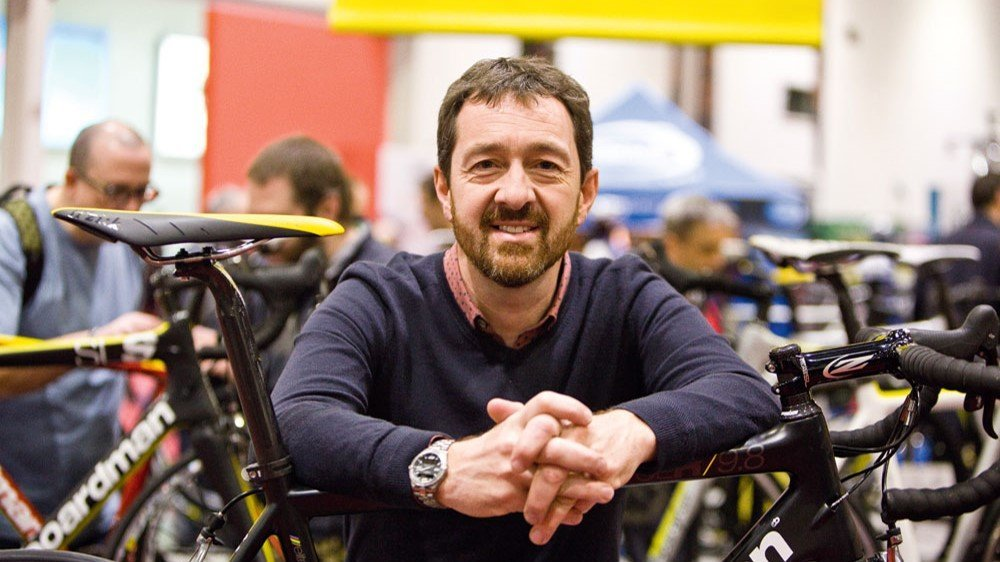 Chris Boardman was a guest speaker at the BASIS Conference 2018