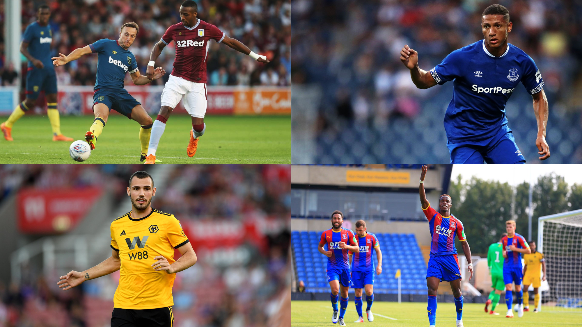Gambling Sponsors on Premier League Kits (2018-19)