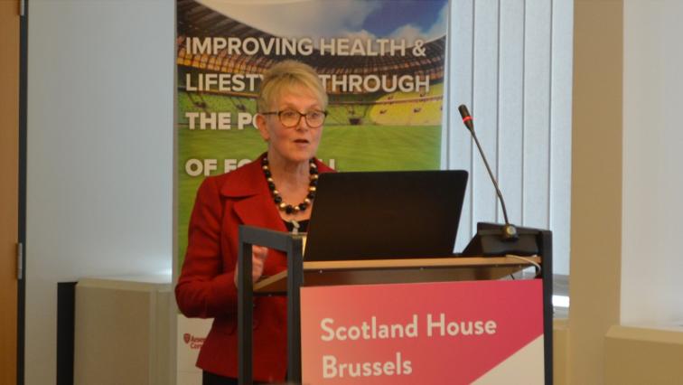 EuroFIT Launch 2 - Sally Wyke