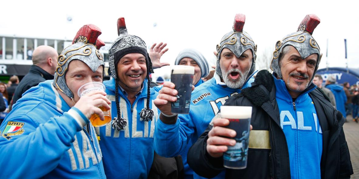 Alcohol - Italian Fans 1