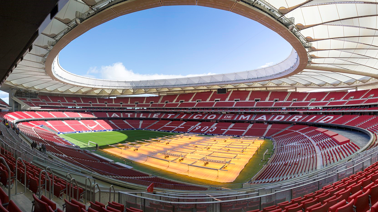 Wanda Metropolitano, home of Atlético de Madrid