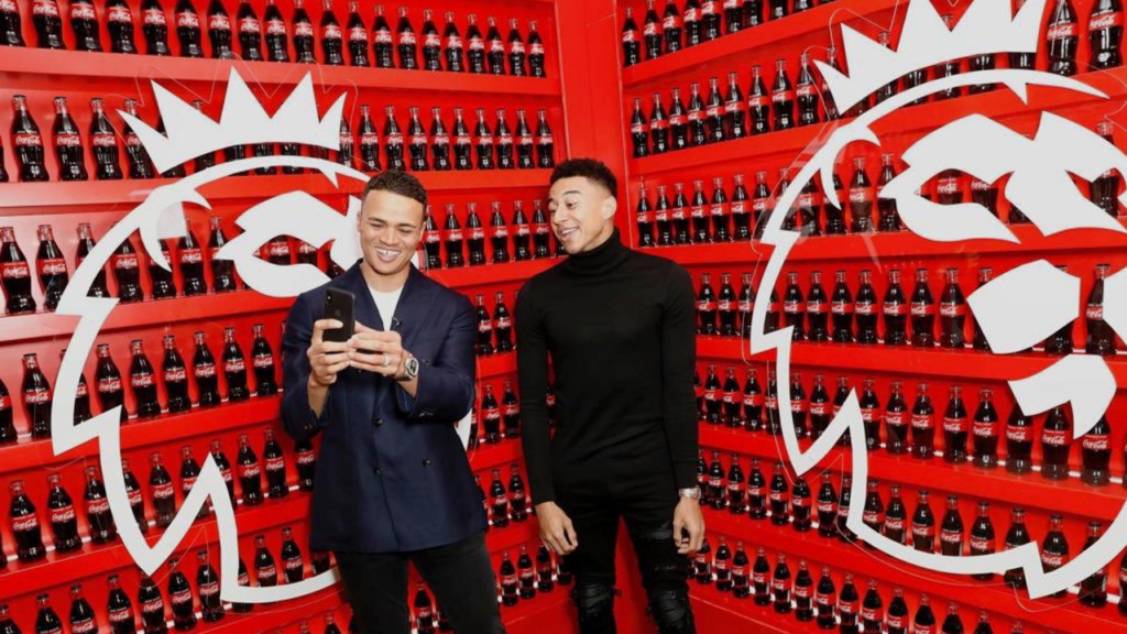 Match of the Day pundit Jermaine Jenas, and Manchester United forward Jesse Lingard are supporting Coca-Cola's launch of #WhereEveryonePlays