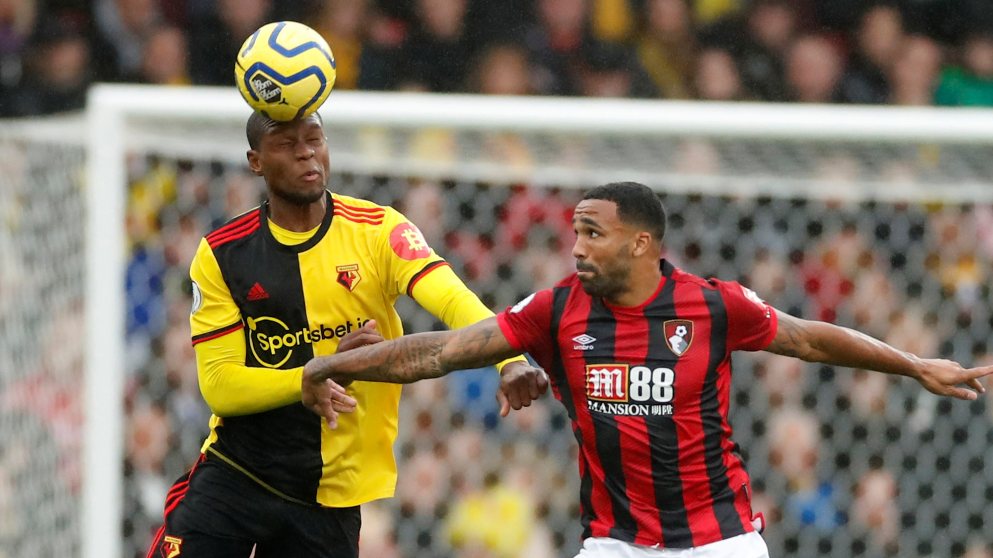 Sponsorship of Sport - Watford and Bournemouth sport gambling sponsors on their football kits