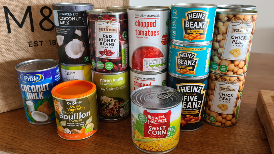 Community Sports Organisations have been supporting food banks
