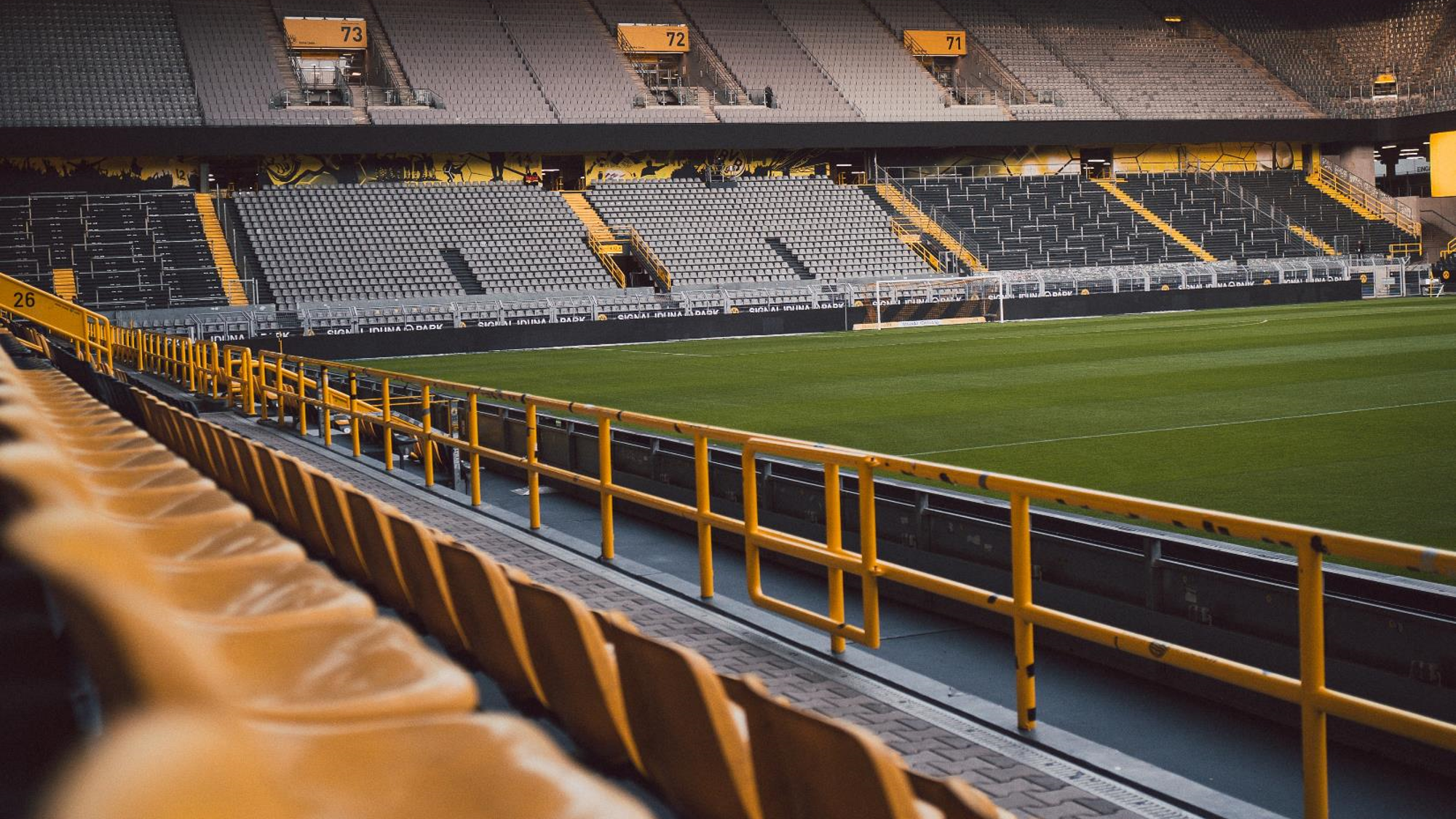 COVID-19 means the majority of stadia will remain empty for the foreseeable future