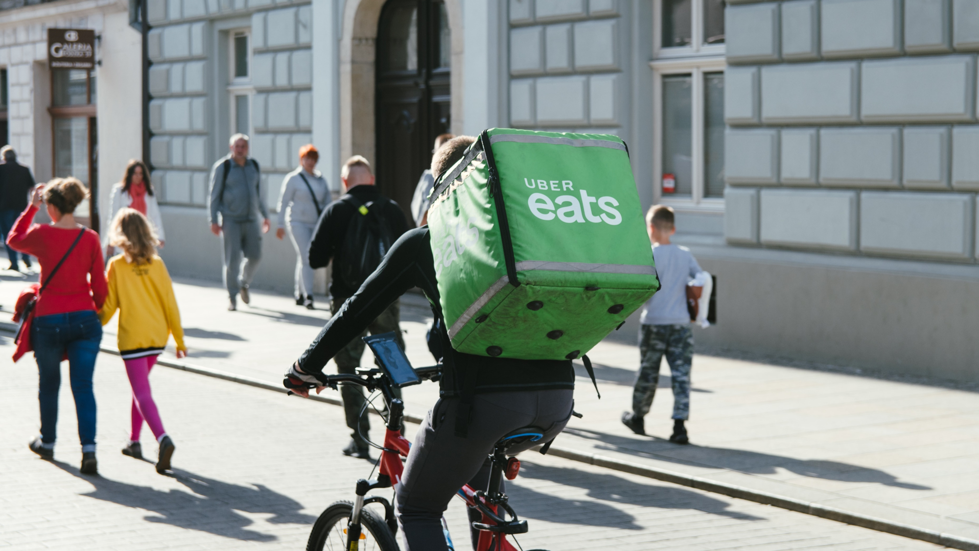 Uber Eats have taken advantage of Project Restart