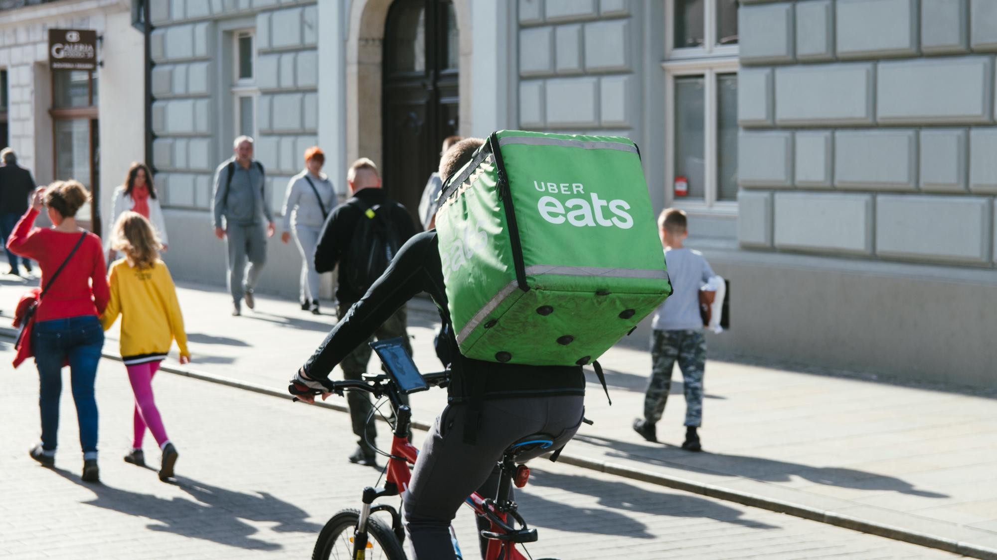 Uber Eats have taken advantage of Project Restart